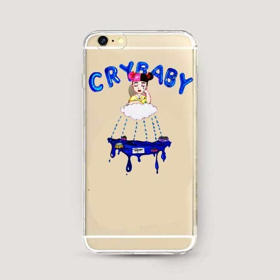 the best attitude aac5f 73969 US $1.89 |Melanie Martinez Cry Baby Hard Cover for iphone SE 6 6s 6Plus 6S  Plus 7 7Plus 8 8Plus X XS XSMAX XR Phone Cases-in Half-wrapped Case from ...