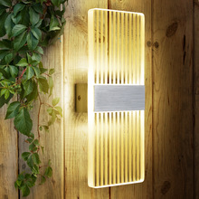 Top Quality Led Wall Lamp Bedside Bedroom Creative Living Room Wall Lamp Modern Simple Bedroom Led Decor Wall Lights