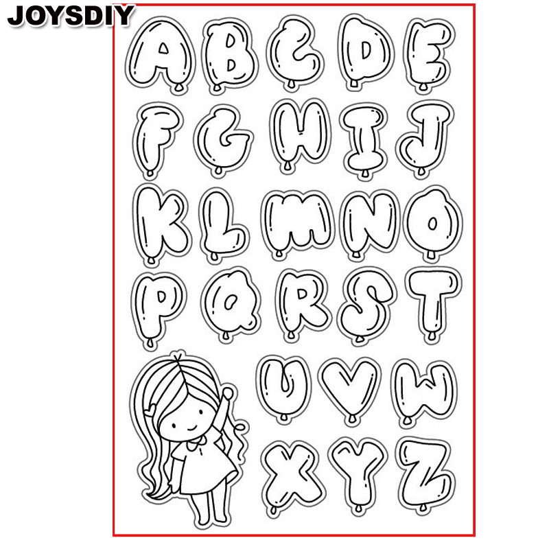 BUBBLE ALPHABET CUTE GIRL scraspbook diy photo cards account rubber stamp clear stamp transparent stamp Handmade card stamp scrapbook diy photo cards account rubber stamp clear stamp transparent stamp handmade card stamp classical flower background