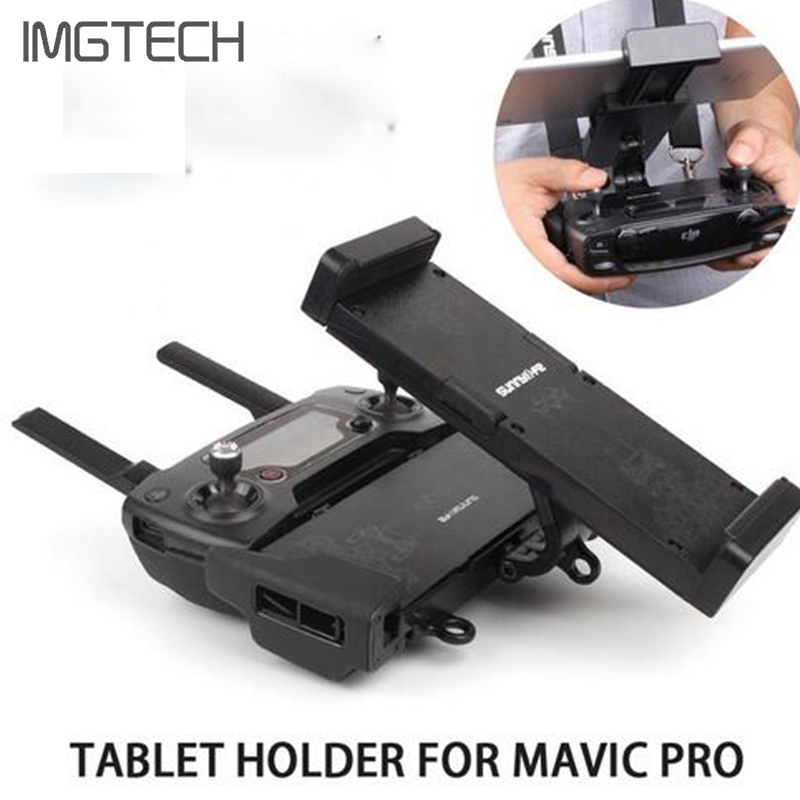 Foldable Extended Holder Remote Controller 4.7-12.9in Phone Tablet Support Holder for DJI SPARK/ MAVIC Pro/Platinum/Mavic Air