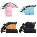 32Pcs Makeup Brushes Set Foundation Eyeliner Lip Cosmetic Brush with Carry Pouch
