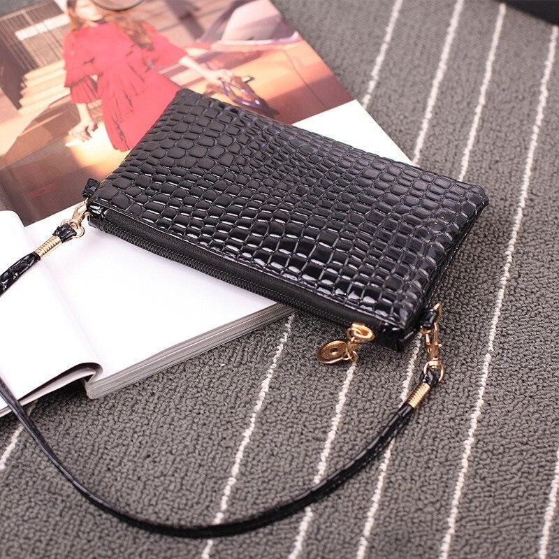 Fashion Mini Cute Small Chain Messenger Bag Vintage Handbags Ladies Shoulder Bag CrossBody Bag Alligator Pattern Handbag