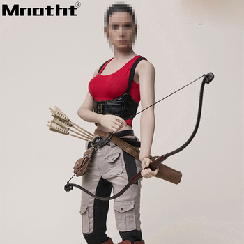Pre Order 1/6 Scale Arrow Girl Full Set Action Figures TY-006 With Vest Pants Boots Pocket Bow Model Toys m5