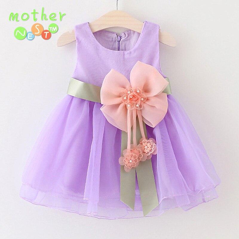 Excepcional Vestido De Fiesta Bebé Componente - Vestido de Novia ...