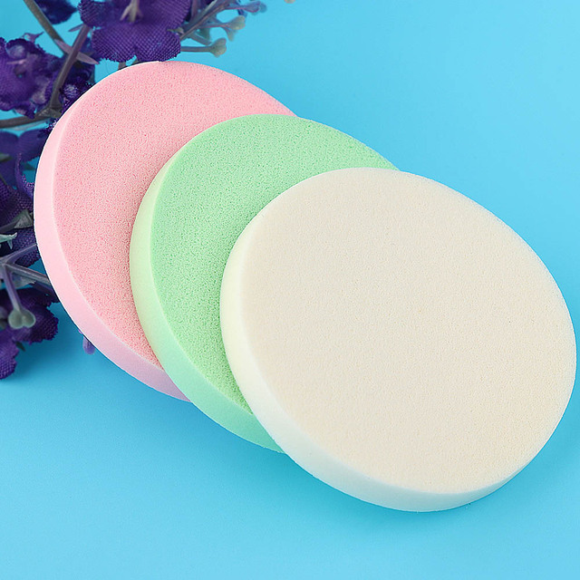 2017 20 Pcs/set Sponge Cosmetic Puff Make Up Sponge Face Soft Makeup Foundation Contour Facial Powder Puff Women Beauty Tool Makeup Brushes