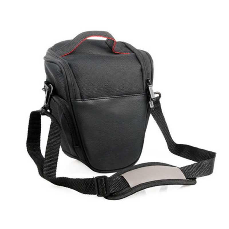 NEW Waterproof Camera Shoulder Bag DSLR <font><b>Case</b></font> for <font><b>Nikon</b></font> D800 D7000 D7100 D5100 D5000 D5300 D3200 <font><b>D3100</b></font> D3000 D90 D80 D300 DSLR image