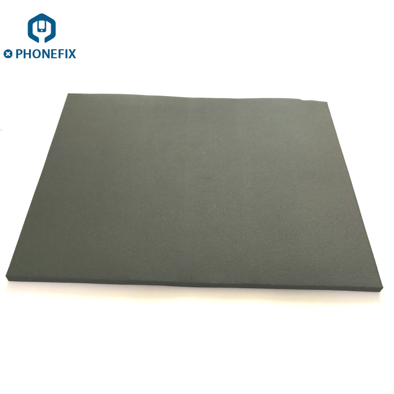 PHONEFIX Senior Black Super Soft Foam Rubber Mat Pressure Screen Pad LCD Screen Repair Vacuum Laminating Machine Platform