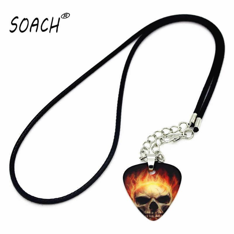 """SOACH 2015 שרשרת Collares תליון רצועות שרשרת שרשראות תכשיטי מבחר גיטרה מבחר 1.0 מ""""מ"""