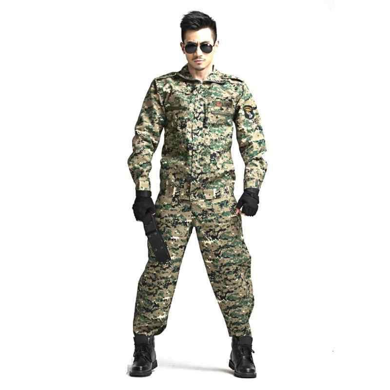 Suit CS Camouflage Suits Tactical Airsoft Uniform Jungle Camouflage Suit  Hunting Clothing Set Training Uniform
