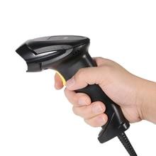 Высокая производительность двунаправленный USB кабель сканер штрихкодов Ручной сканирования штрих-кодов пистолет для супермаркета магазин