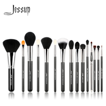 Jessup brushes 15PCS Professional Makeup brushes set Beauty tools Make up brush Cosmetic Powder Foundation Eyeliner