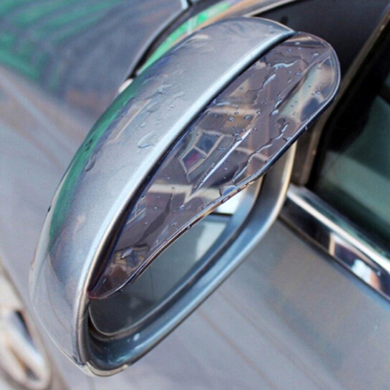 2 قطعة PVC سيارة مرآة خلفية الحاجب غطاء للمطر ملصقا ل جيلي الرؤية SC7 MK CK عبر Gleagle SC7 Englon SC3 SC5 SC6 SC7 الباندا