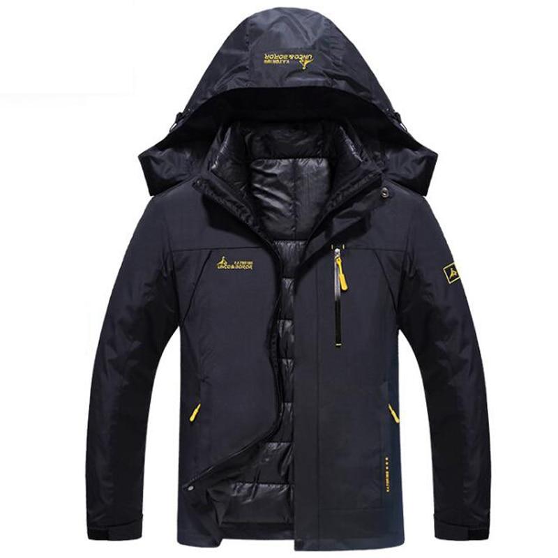 XIYOUNIAO Winter Tracksuits Men Set Thicken Fleece Hoodies Pants Suit Warm Casual Men s sportswear Coats