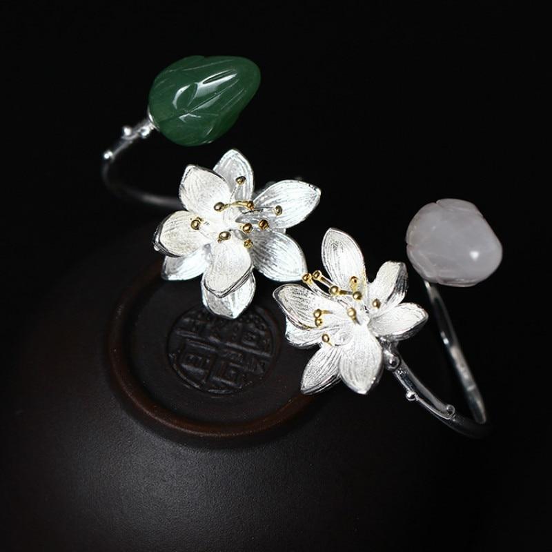 S925 Срібні Кільця для жінок Натуральні - Вишукані прикраси