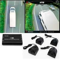 Vogel Ansicht kamera System für RV/wohnmobil/Camper HD 3D 360 Surround View System 1080P DVR G -Sensor