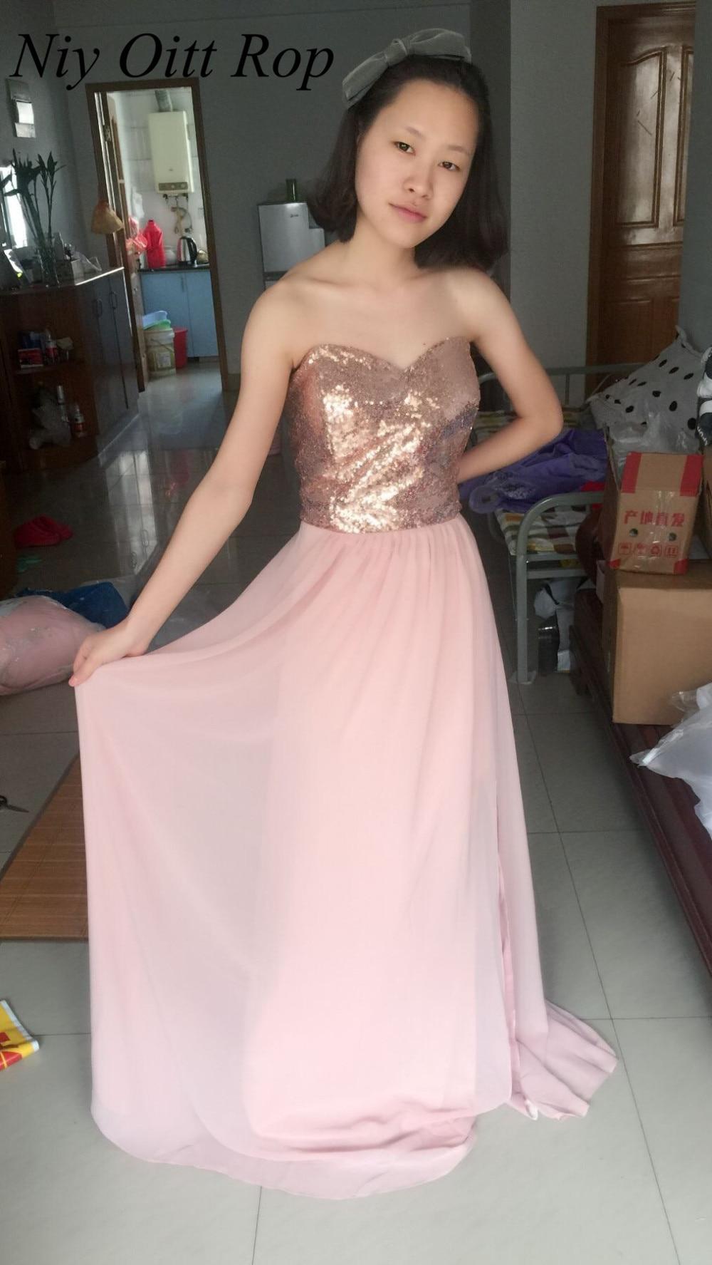 dabd9519ff1 Elegant Encounter Rose Gold Sequin Maxi Dress - Lulus