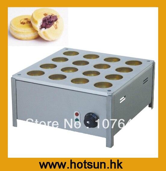 Hot Sale 16pcs 220v Electric Bean Waffle Machine hot sale 16pcs gas bean cake machine