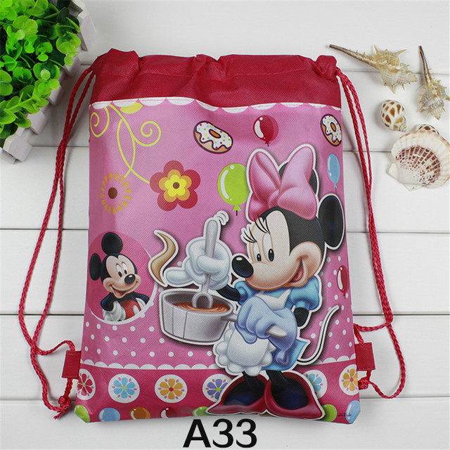 1pcs Mickey Mou design Children School Bag Kids Printing Cartoon ...
