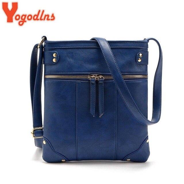 141acf286dd2 Yogodlns Fashion 2019 Women Messenger Bags Females Bucket Bag Leather  Crossbody Shoulder Bag Bolsas Femininas Sac A Main Bolsos