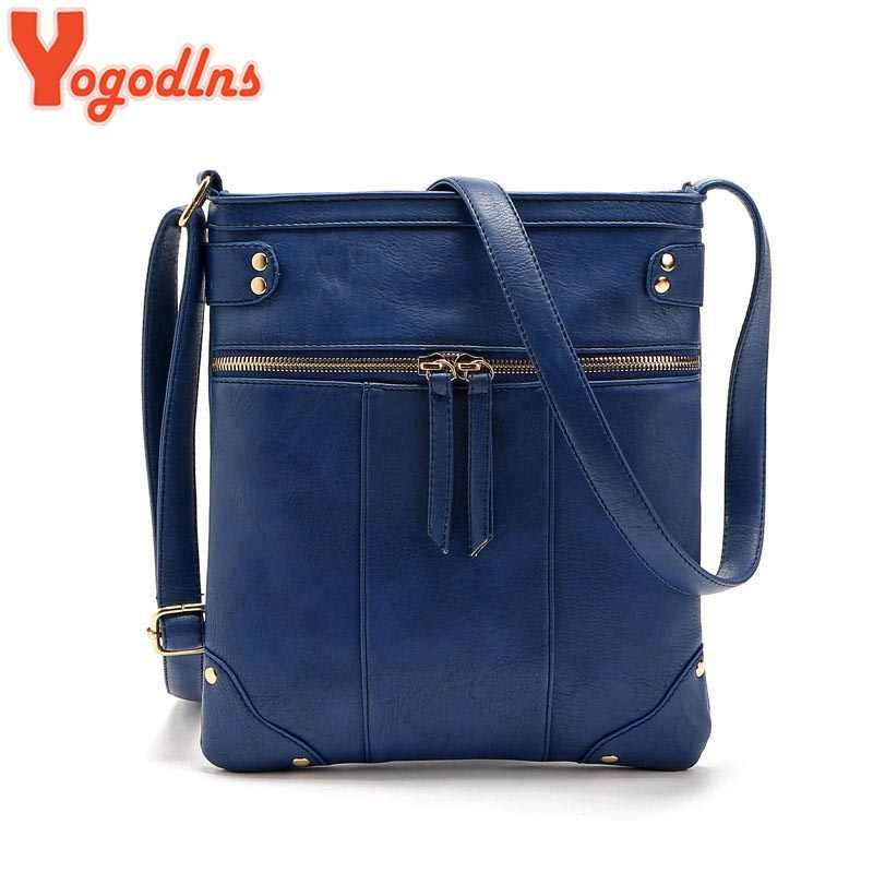 Yogodlns Fashion 2019 Women Messenger Bags Females Bucket Bag Leather Crossbody Shoulder Bag Bolsas Femininas Sac A Main Bolsos
