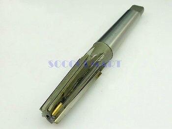 1 adet alaşımlı çelik 1:10 makineleri konik sap düz flüt konik raybalar 32mm