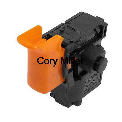 ac 250v 4a black case lock on trigger switch for bosch gsb. Black Bedroom Furniture Sets. Home Design Ideas