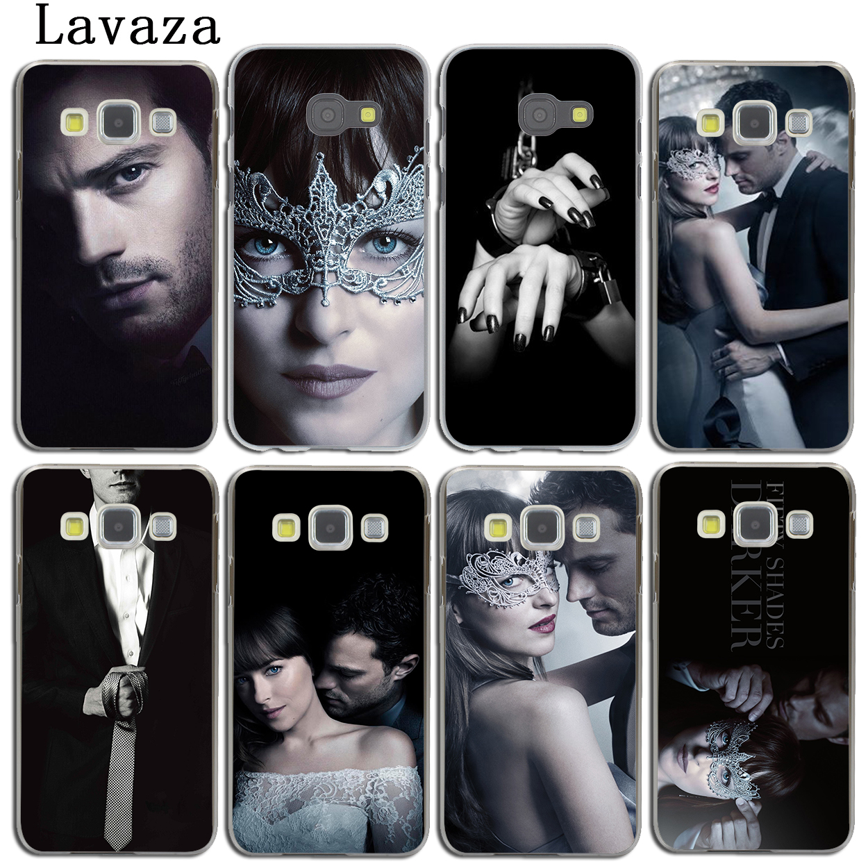 Lavaza Fifty Shades Darker of grey freed Case for Samsung Galaxy A3 A7 A8 A5 2018 2017 2016 2015 Note 8 5 4 3 Grand Prime 2