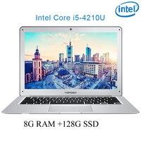 P7 03 8G ram 128G SSD i5 4210U 14 Untral тонкий ноутбук игровой ноутбук Настольный компьютер