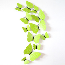 12 Pcs DIY font b 3D b font font b Butterfly b font font b Wall