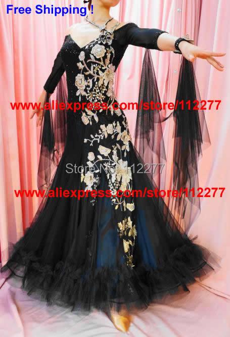 Ballroom Dance Dress Competition Ballgown Dancing Wear
