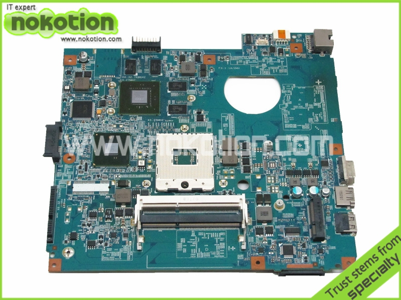48 4GY02 031 for acer aspire 4741 font b MOTHERBOARD b font HM55 NVIDIA GT435M DDR3