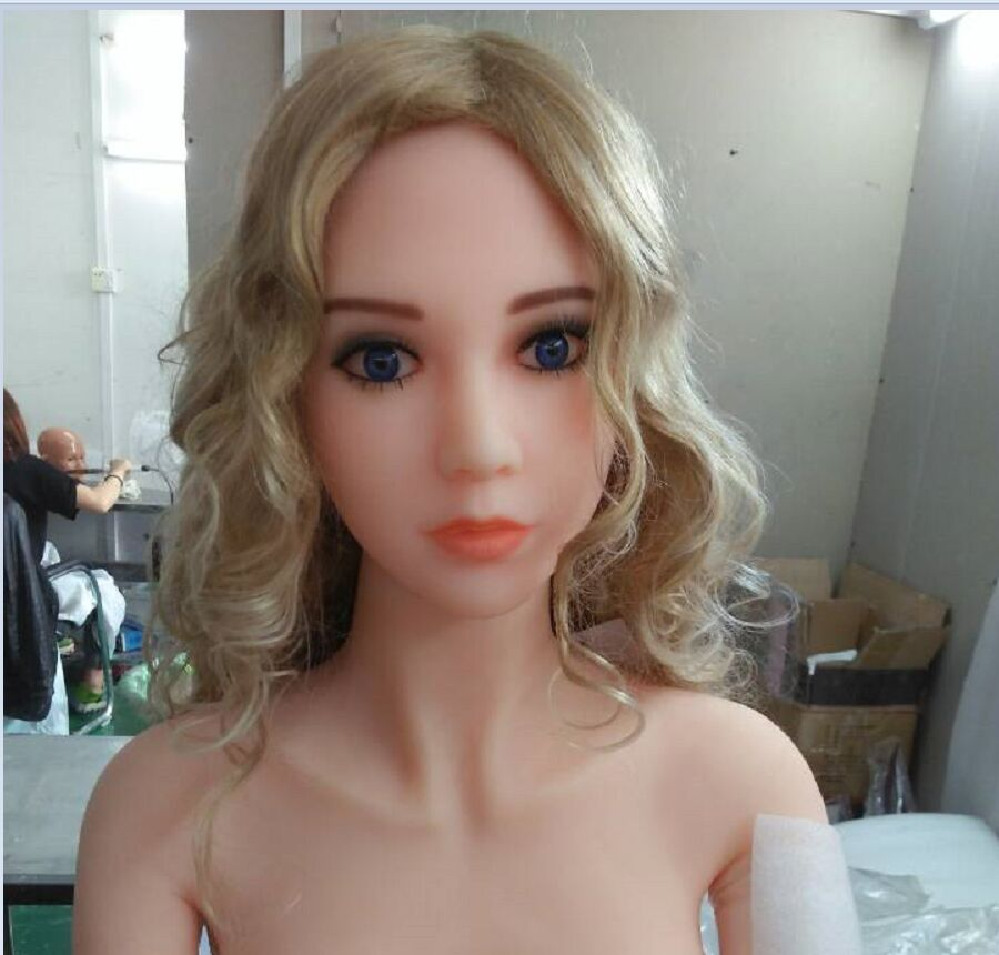 50 cool girl face oral sex doll head for big size sexy dolls 135cm 140cm