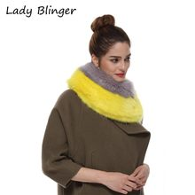 Winter Faux Fur Scarf