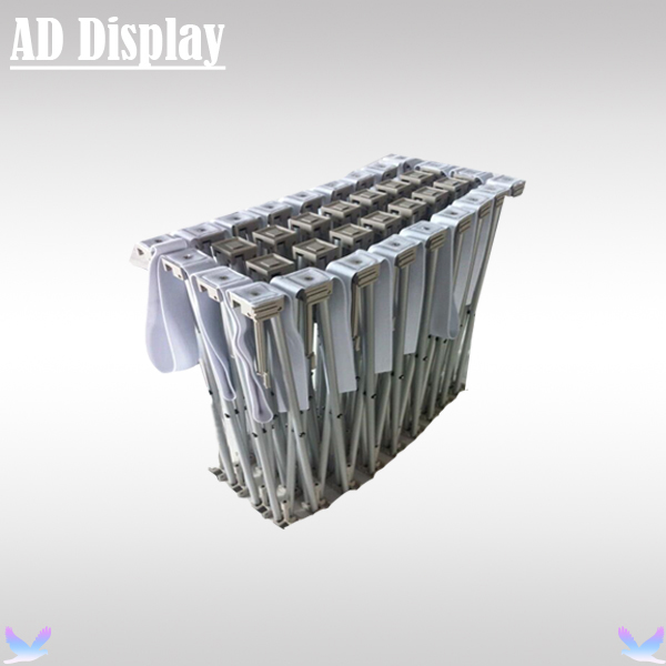 Fabric Pop Up Exhibition Stands : Ft trade show advertising straight stretch fabric banner