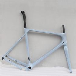 Bicicleta Toray de fibra de carbono completa, marco de bicicleta de grava de carbono 700 * 40c 142*12 tamaño S/M/L/XL, marco de bicicleta de carretera de ciclocross