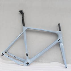 Toray Carbon Đầy Đủ Sợi Sỏi Xe Đạp Đầy Đủ Carbon Sỏi Khung Xe Đạp 700 * 40c 142*12 Kích Thước S/ m/L/XL Cyclocross Đường Xe Đạp Frameset