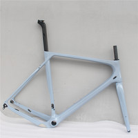 Toray Full Carbon Fiber Gravel Bike Full Carbon Gravel Bicycle Frame 700*40c 142*12 Size S/M/L/XL Cyclocross Road Bike Frameset