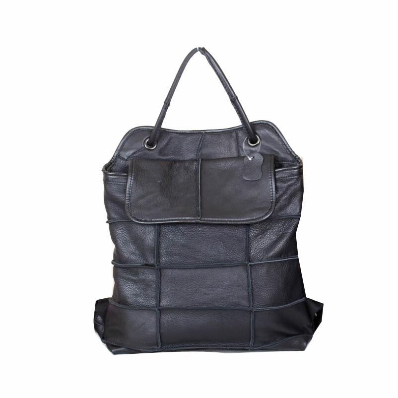 Women Vintage Bucket Bags Girls School Bag Women Handbag Women Genuine Leather Bag