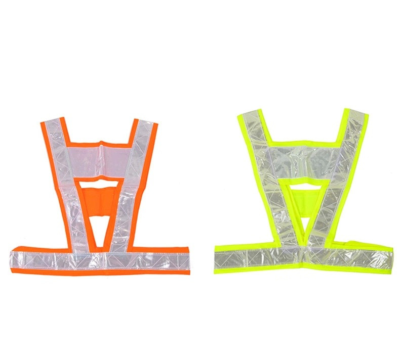 Safety Clothing Reflectante Reflective Fabric Material Strip Tap Band Vest & Jacket For Women Or Men 5cmx5m gray tc material reflecterende stof for jacket and vest free shipping