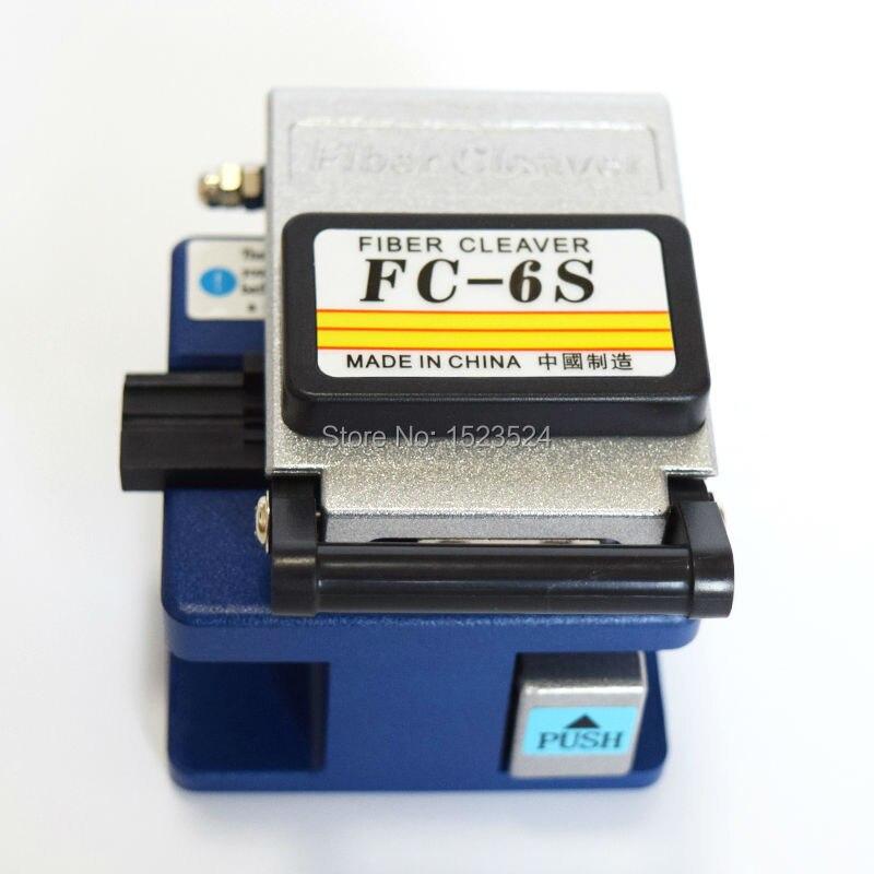 bilder für Freies Verschiffen Geistige Precison FC-6S Optical Fiber Cleaver Cutter Werkzeuge Verwendet in FTTX FTTH