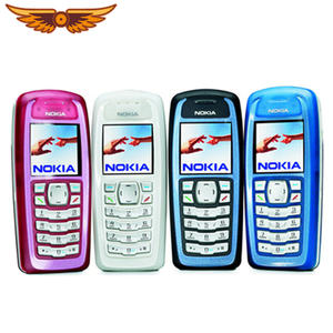 Nokia 3100 GSM-BAR 850 Refurbished Old-Cellphone Keybaord Mah-Support Unlocked Cheap