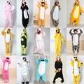 Пижама Пижама для Животных Костюмы Косплей Костюмы Для Взрослых Одежды Фланелевые Милый Мультфильм Животных Onesies Sleepwears