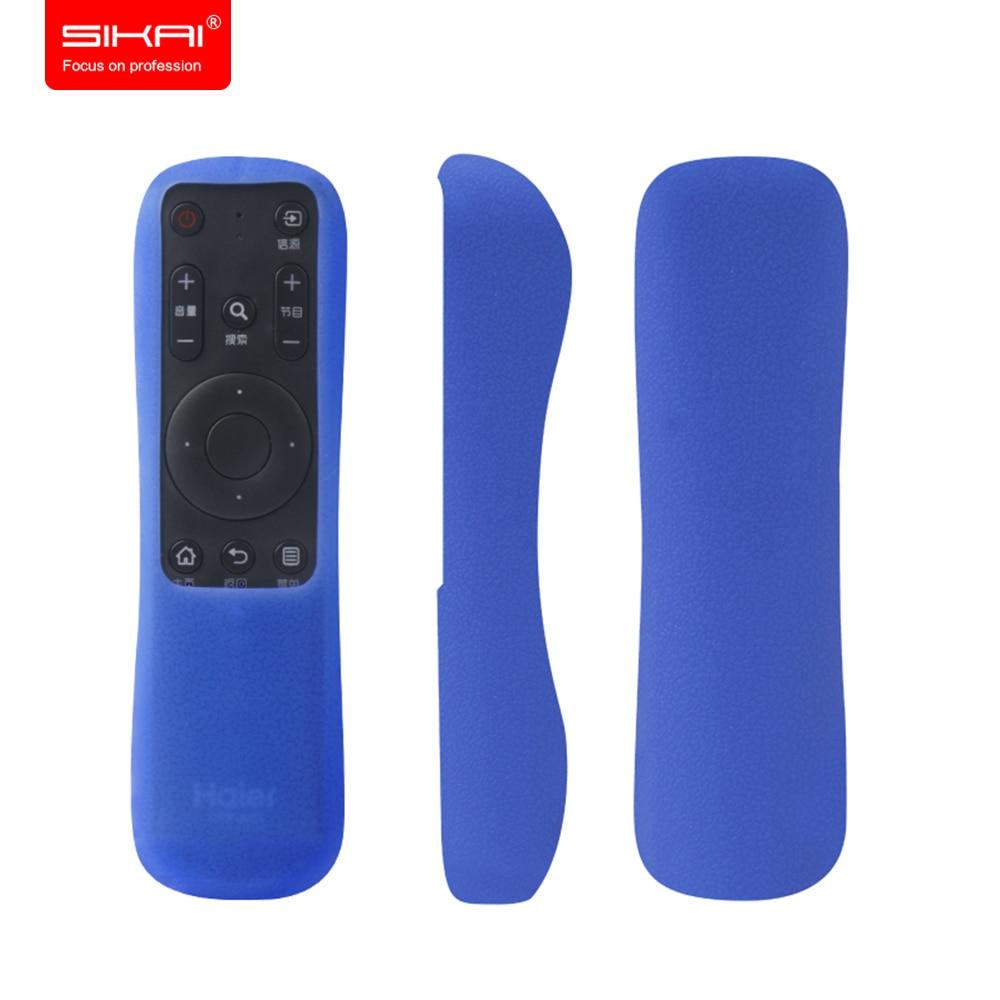 SIKAI Lembut Silicon Kasus Untuk Haier Smart TV Remote Control Kasus - Aksesori dan suku cadang ponsel - Foto 4