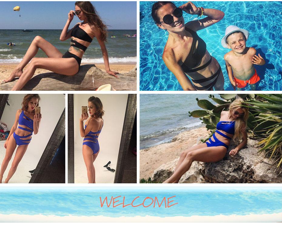 Andzhelika Bikinis Women Swimsuit Newest Sexy Leopard Patchwork Bikinis Set Plus Size Swimwear Maillot de bain Femme Biquini 25