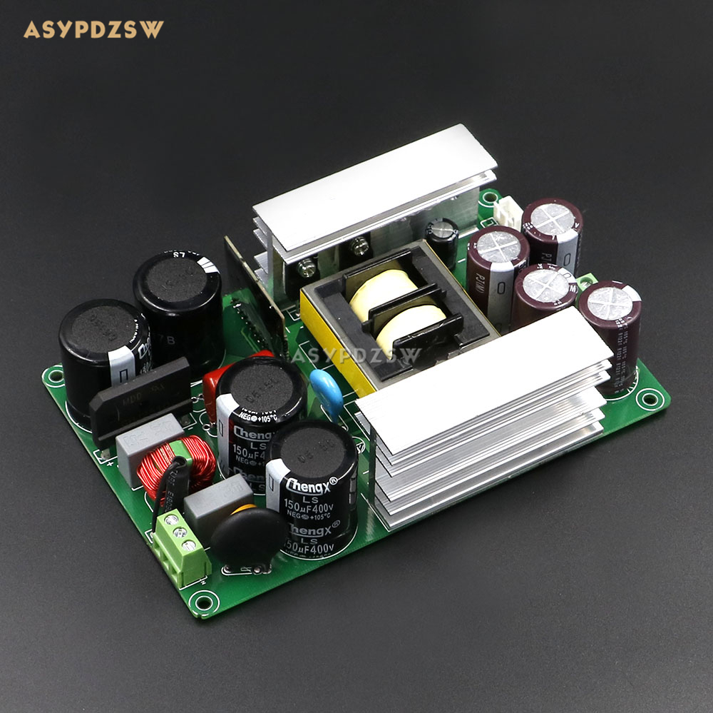 High quality HIFI 800W +/-60V LLC Soft switching power supply board Power amplifier PSU finished board