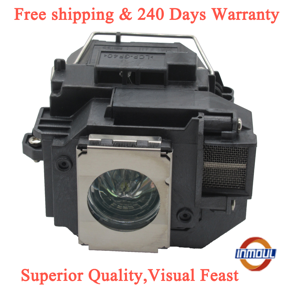 Inmoul A+quality And 95% Brightness Projector Lamp For ELPLP54 For EX31 EX71 EX51 EB-S72 EB-X72 EB-S7 EB-X7 EB-W7 EB-S82  EB-S8