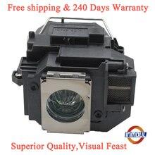 Inmoul una + qualità e 95% luminosità proiettore lampada ELPLP54 per EPSON EX31 EX71 EX51 EB S72 EB X72 EB S7 EB X7 EB W7 EB S82