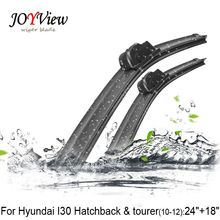 U-hook Size:24″+18″ Fit For Hyundai I30 (Hatchback & tourer,2010-2012)High Quality Windscreen Wipers Essuie glace