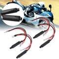Mayitr 4 шт. 12 В черный Универсальный мотоциклетный светодиодный индикатор поворота резисторный адаптер Moto Blinker адаптер Светодиодный нагрузоч...