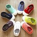 2017 del otoño del resorte insole13 ~ 20 cm jin niños shoes kids sneakers para niños bebés canvas shoes girls sport shoes los colores del caramelo